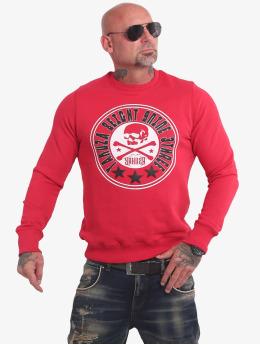 Yakuza Swetry Inner Circle czerwony