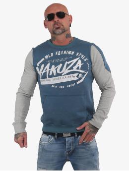 Yakuza Swetry Old Fashion Two Face Pouch niebieski