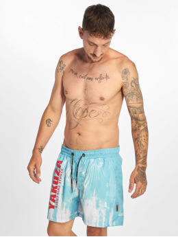 Yakuza Swim shorts Rise Up turquoise