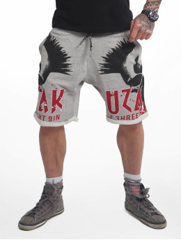 Yakuza Szorty Dead Punk Urban szary