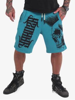 Yakuza Szorty Dead Punk V02 turkusowy