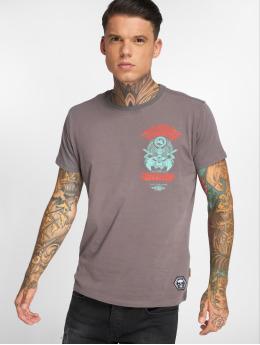 Yakuza T-paidat Ruthless harmaa