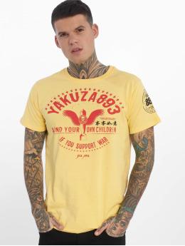 Yakuza T-paidat Support ? keltainen