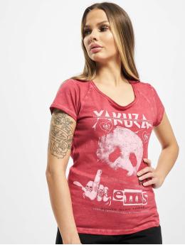 Yakuza T-paidat Panda Racerback punainen