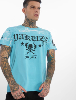 Yakuza T-paidat Marble sininen
