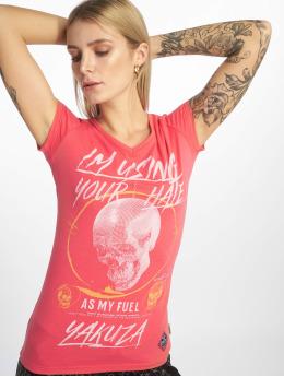 Yakuza T-paidat Your Hate vaaleanpunainen