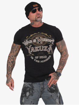 Yakuza T-Shirt War Is Murder black