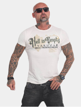 Yakuza T-Shirt Hell Is Empty blanc