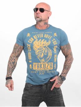 Yakuza t-shirt Good Cock blauw
