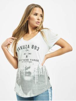 Yakuza t-shirt Virus V Neck blauw