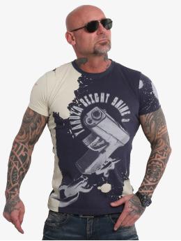 Yakuza T-Shirt Raid bleu