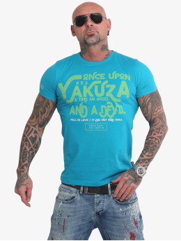 Yakuza T-Shirt Once Upon blue