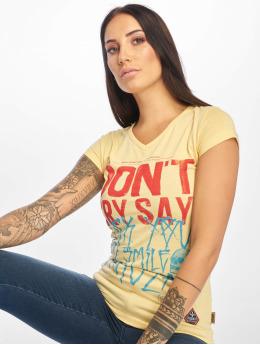 Yakuza t-shirt Smile geel