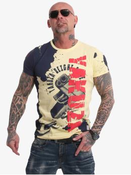 Yakuza t-shirt Raid  geel