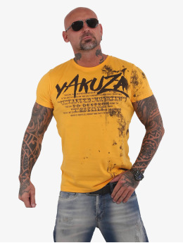 Yakuza t-shirt Destroy A Monster  goud