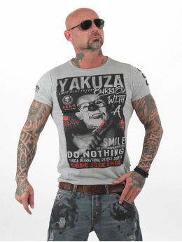 Yakuza Burried T-Shirt Light Grey Melange