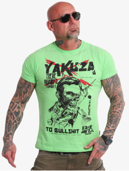 Yakuza T-Shirt Stupidity green