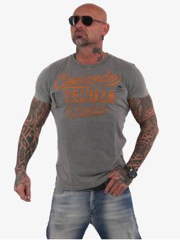 Yakuza T-shirt Lloviendo grigio