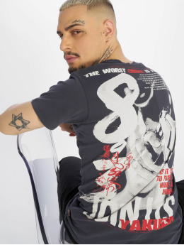 Yakuza t-shirt Join US grijs
