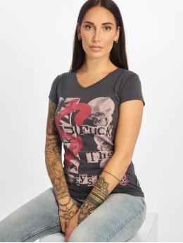 Yakuza t-shirt Fts grijs