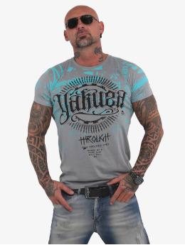 Yakuza t-shirt Through Times grijs