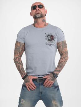 Yakuza T-Shirt Bad Side gris