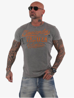 Yakuza T-Shirt Lloviendo gris