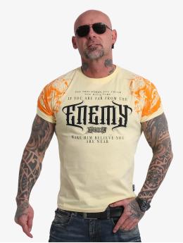 Yakuza T-Shirt Far From The Enemy jaune