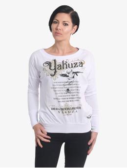 Yakuza T-Shirt manches longues Armed Angel blanc