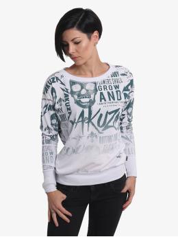 Yakuza T-Shirt manches longues Rotting Body Gradient blanc