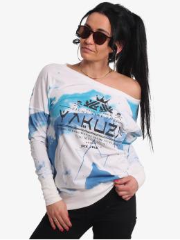 Yakuza T-Shirt manches longues Spacy  blanc