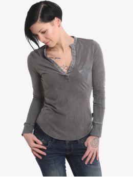 Yakuza T-Shirt manches longues Rose Of 893 noir