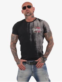 Yakuza T-Shirt Skull Dust noir