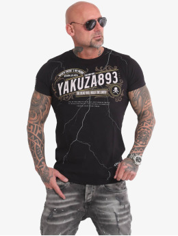 Yakuza T-Shirt Room In Hell noir