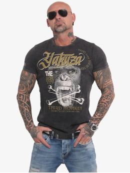 Yakuza T-Shirt Third Monkey noir