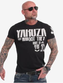 Yakuza T-Shirt Right To Decide noir