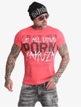 Yakuza T-Shirt Porn  rose