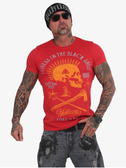 Yakuza T-shirt Black Sheep rosso