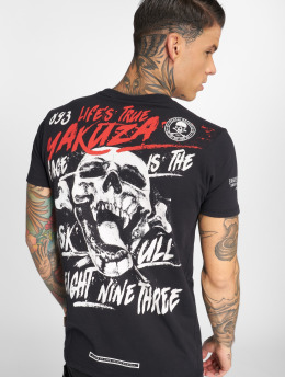 Yakuza T-Shirt True Life schwarz
