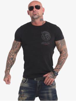Yakuza T-Shirt Neither The Sun schwarz
