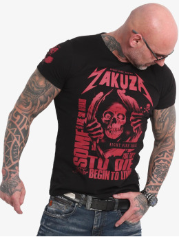 Yakuza T-Shirt Afraid To Die schwarz