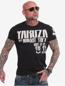 Yakuza T-Shirt Right To Decide schwarz