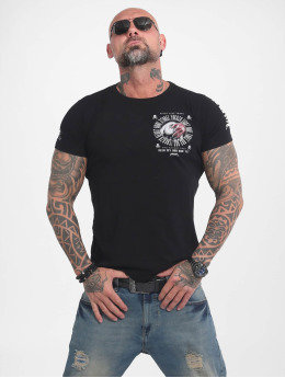 Yakuza T-shirt Bad Side  svart