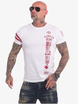 Yakuza T-shirt Ulster  vit