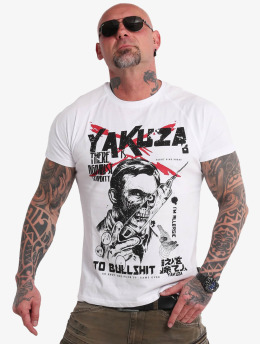 Yakuza T-Shirt Stupidity white