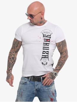 Yakuza t-shirt Ammo  wit