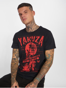 Yakuza t-shirt Love Hate zwart