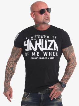 Yakuza t-shirt Anyone  zwart