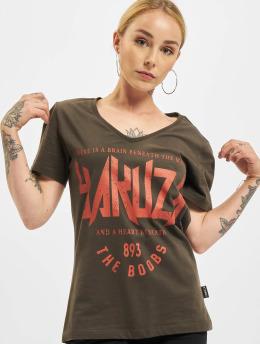 Yakuza t-shirt Boobs V-Neck zwart