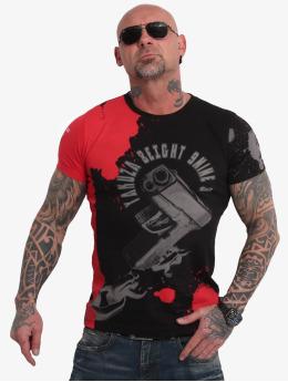 Yakuza t-shirt Raid  zwart